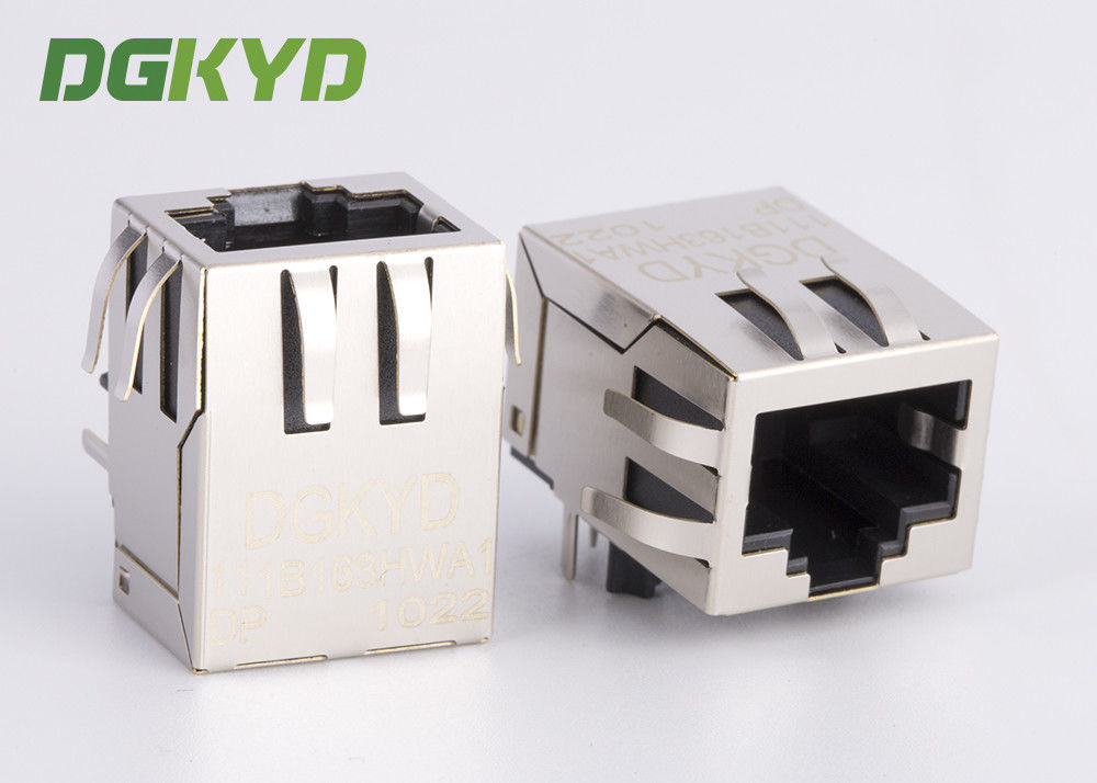 내부 isolationTransformer 100base-TX 8P8C OEM/ODM를 가진 POE RJ45 연결관 협력 업체